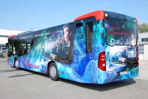 Werbetechnik Radolfzell Bus